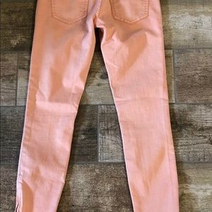 Free People Jeans - FREE PEOPLE Jeans Coral Color Size 26